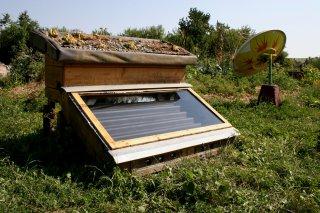 Ako si môžeme postaviť solárnu sušičku