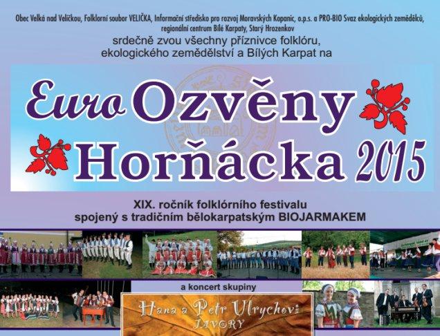 Bělokarpatský biojarmark v rámci Euro Ozvěn Horňácka