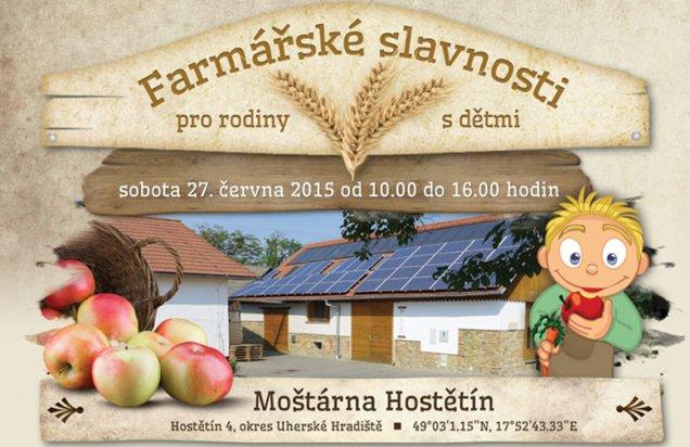 Farmárske slávnosti - Moštárna Hostětín