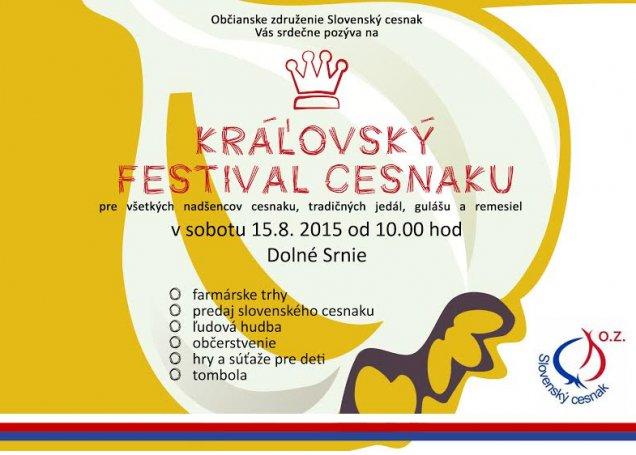 Kráľovský festival cesnaku 2015