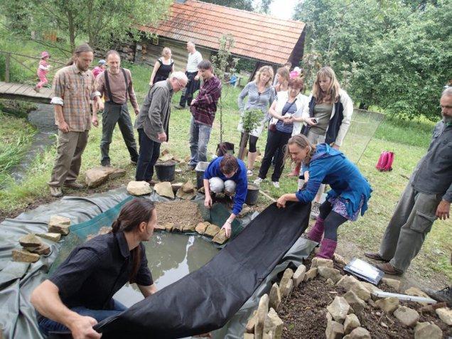 Přírodní zahrady - praktický seminář, foto: Přírodní zahrady - praktický seminář