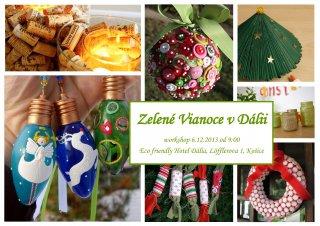Workshop Zelené Vianoce