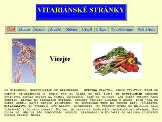 Vitariánské stránky